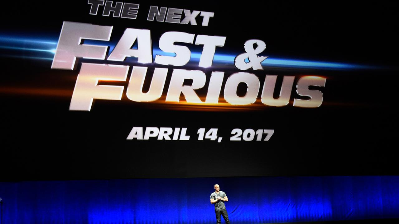 Paul Walker in Fast and Furious 8