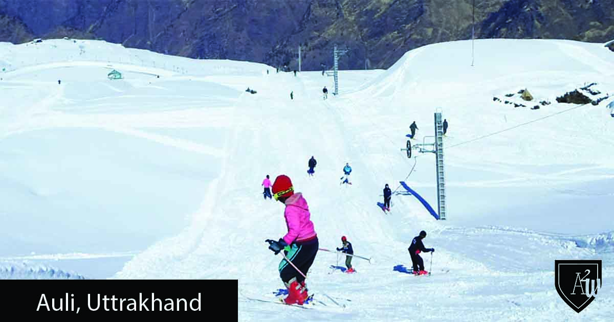 10 Best Places to See Snow in India - Auli