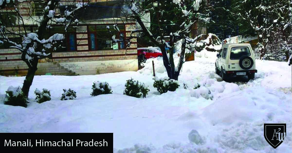 10 Best Places to See Snow in India manali