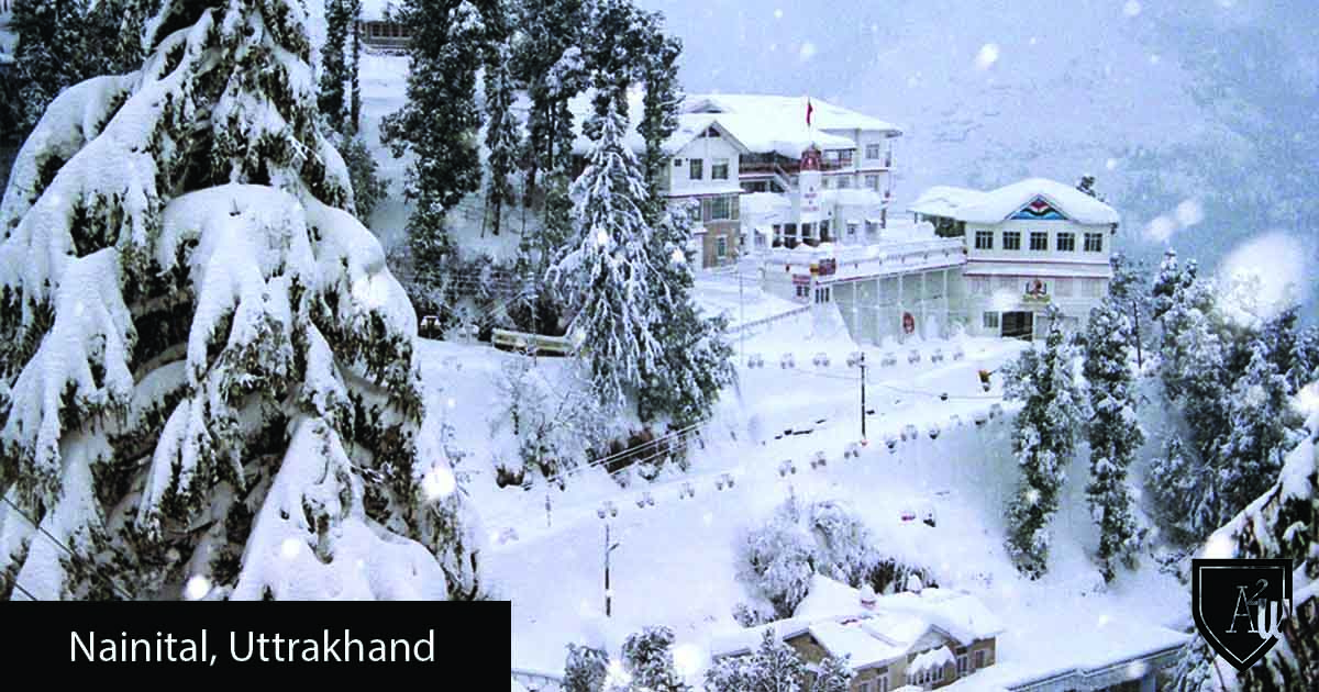 10 Best Places to See Snow in India nainital