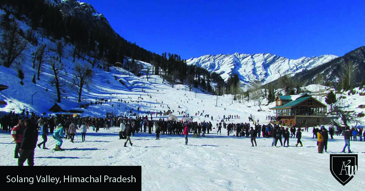10 Best Places to See Snow in India solang-valley