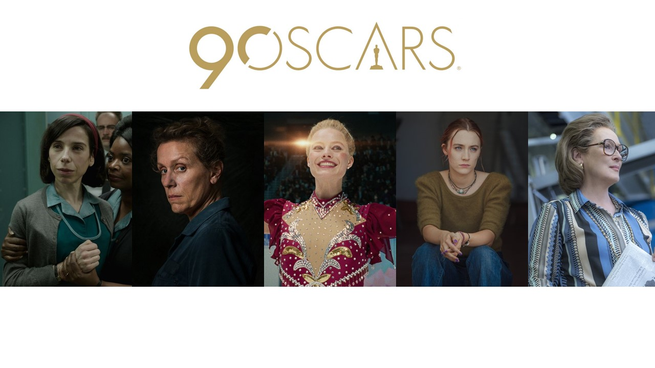 Complete List of the 90th Academy Awards 'Oscar' Nominees - Ankit2World
