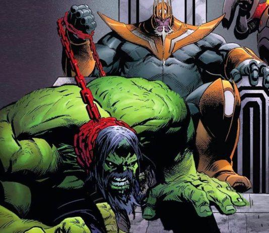How HULK Dies in the Comics of Thanos - Ankit2World