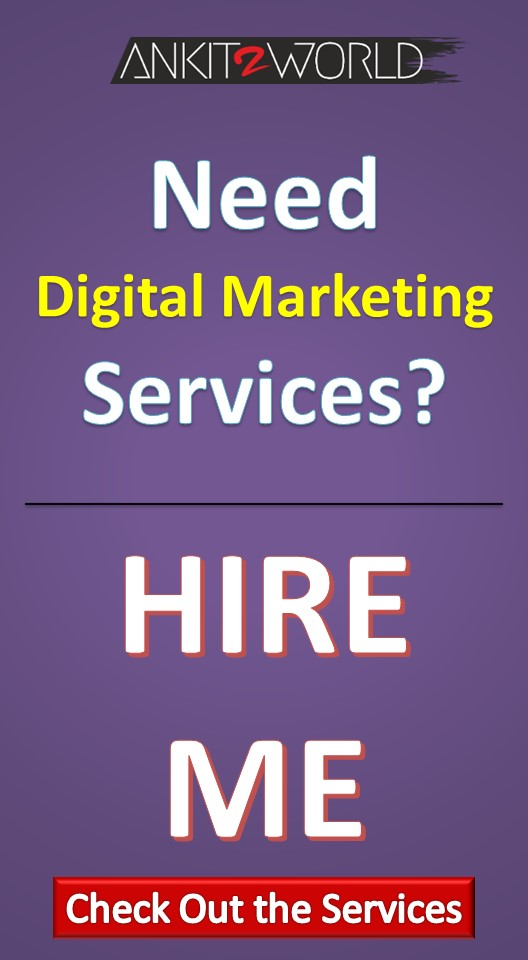 Digital Marketing Services - Ankit2World
