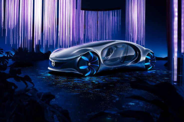 Mercedes Benz AVTR - Avatar Movie Vehicle Ankit2World (4)