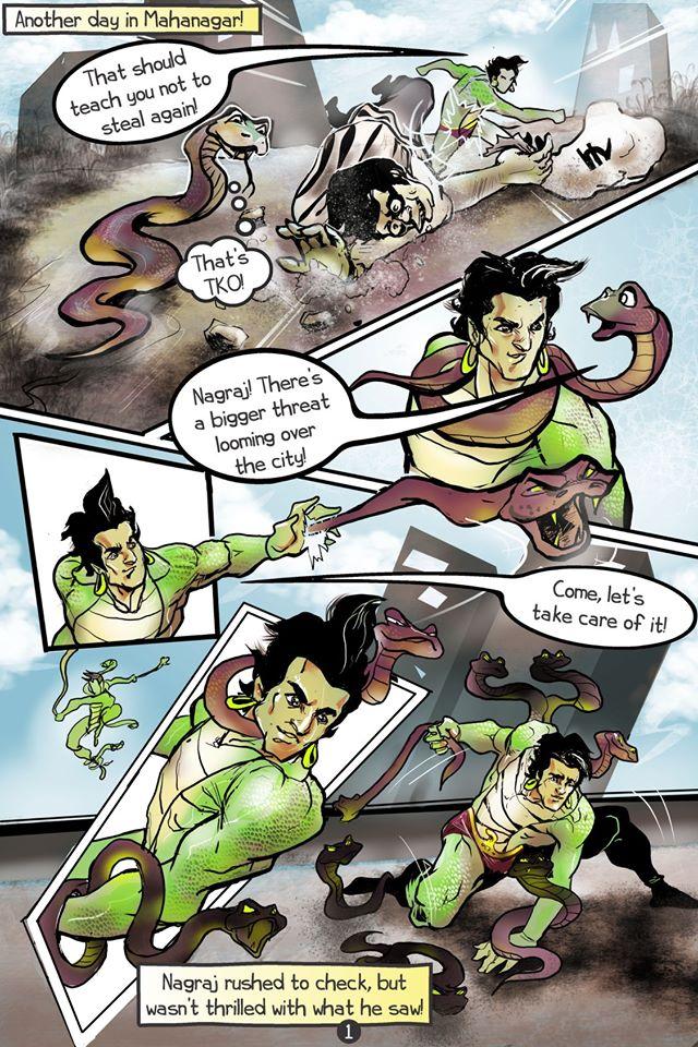 Raj Comics Special: Nagraj Strikes: The Attack of Coronaman - Ankit2World